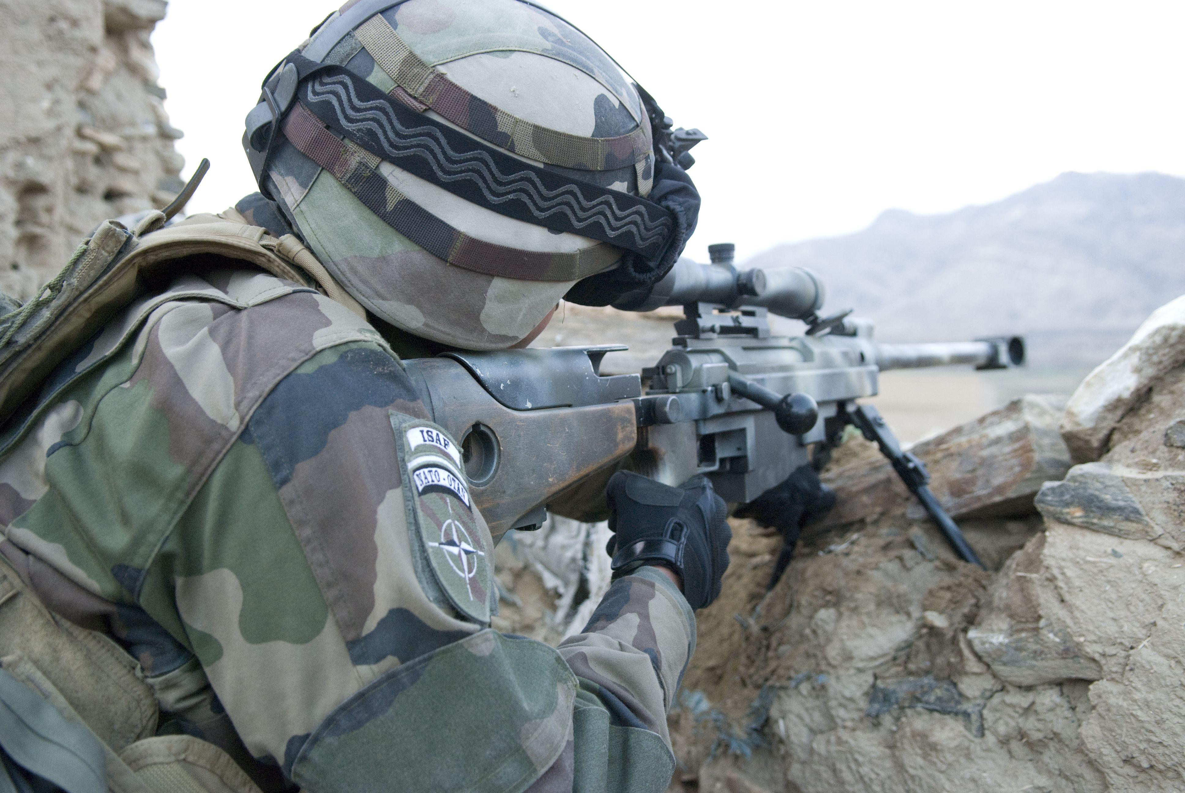 Audacieuse Tireur d'élite. © armée de Terre #infanterie   Armee de Terre NS-26