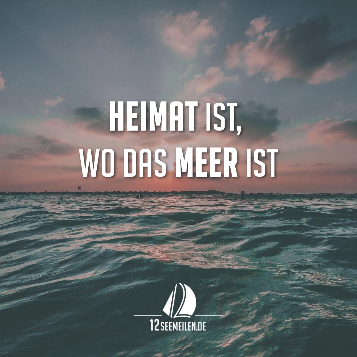 Heimat ist wo das meer ist spr che spruch zitate - Hamburg zitate ...