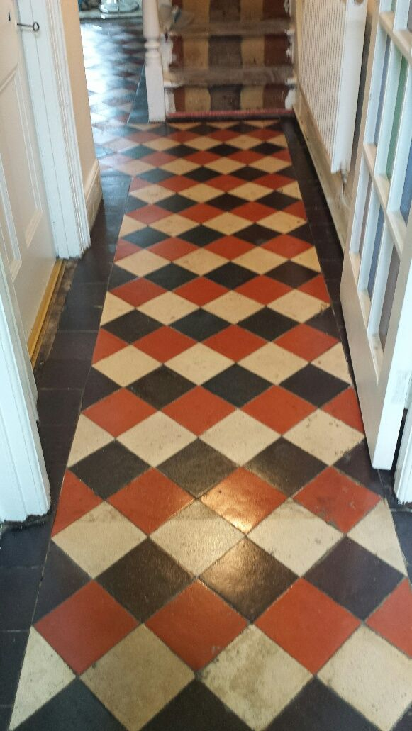 Quarry Tile Floor Merthyr Tydfil After Cleaning Home Decor