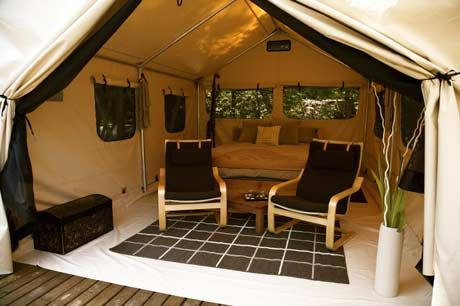 The Luxury Safari Tent. Now this is the way to tent c&! & The Luxury Safari Tent. Now this is the way to tent camp! | Travel ...