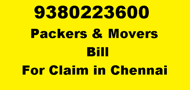 Swastik Packers And Movers Chennai Packing Moving Service Packers - Packers and movers bill format download