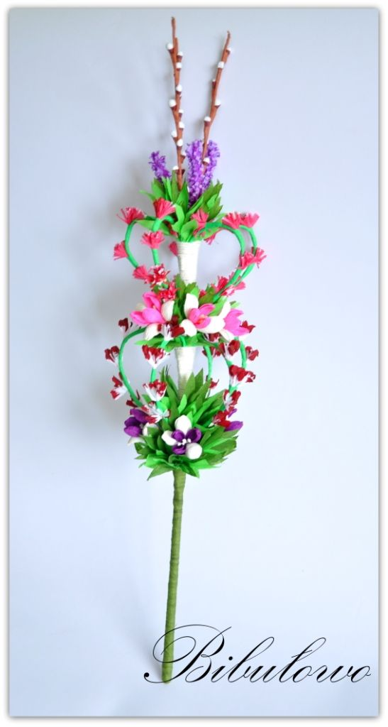 Palma Wielkanocna Wielkanoc 3981064403 Oficjalne Archiwum Allegro Paper Flowers Easter Diy Paper Flowers Diy