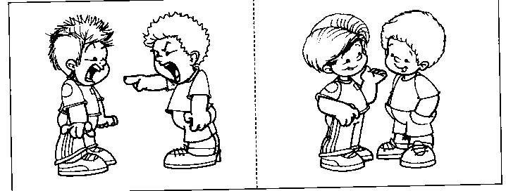 Dibujos Para Colorear Sobre El Valor Del Respeto