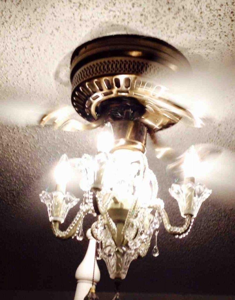 Ceiling Fan With Chandelier Light Kit Chandelier Fan Ceiling Fan Chandelier Chandelier Lighting