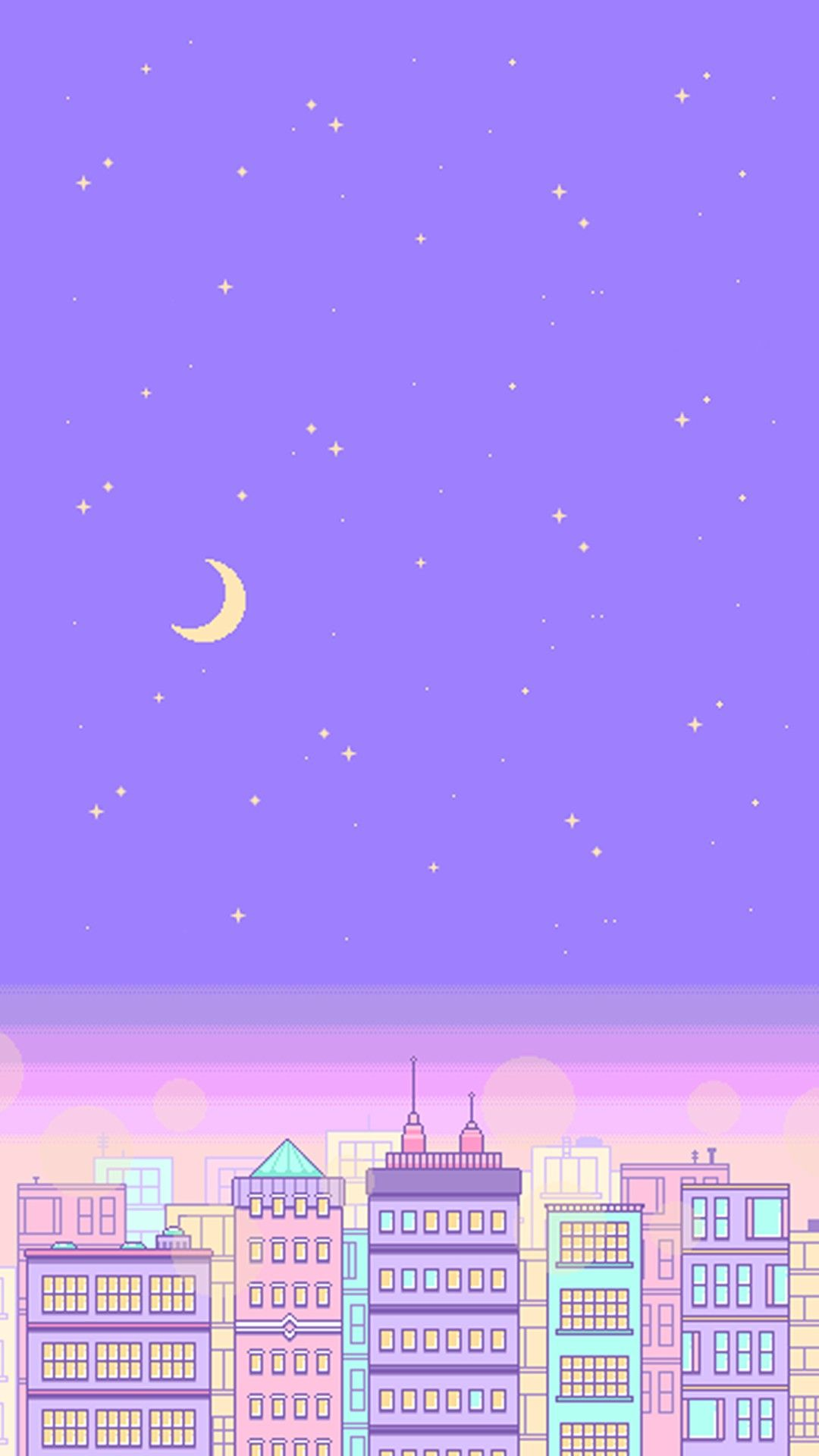 Pastel city Aesthetic pastel wallpaper, Iphone wallpaper