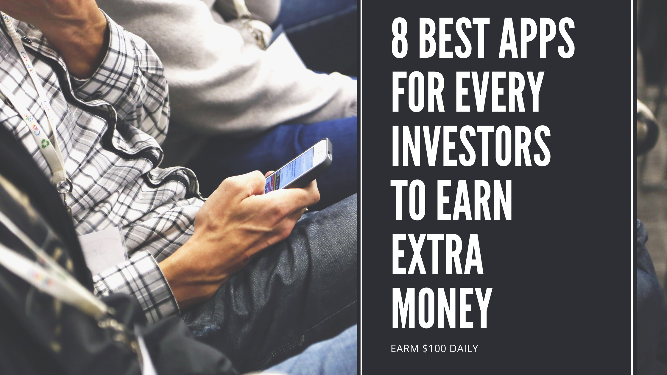 8 Best App for Investors Earn Money Online in 2020 Top