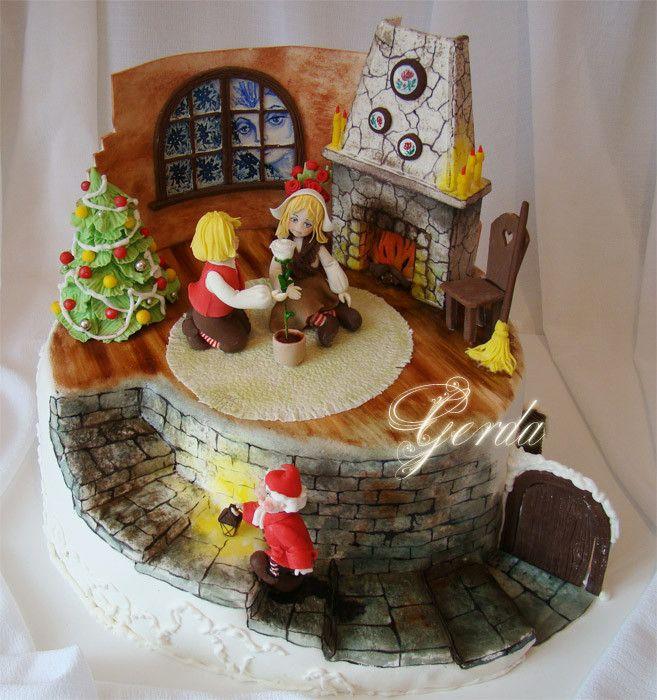 торт со сказочными персонажами своими руками фото это