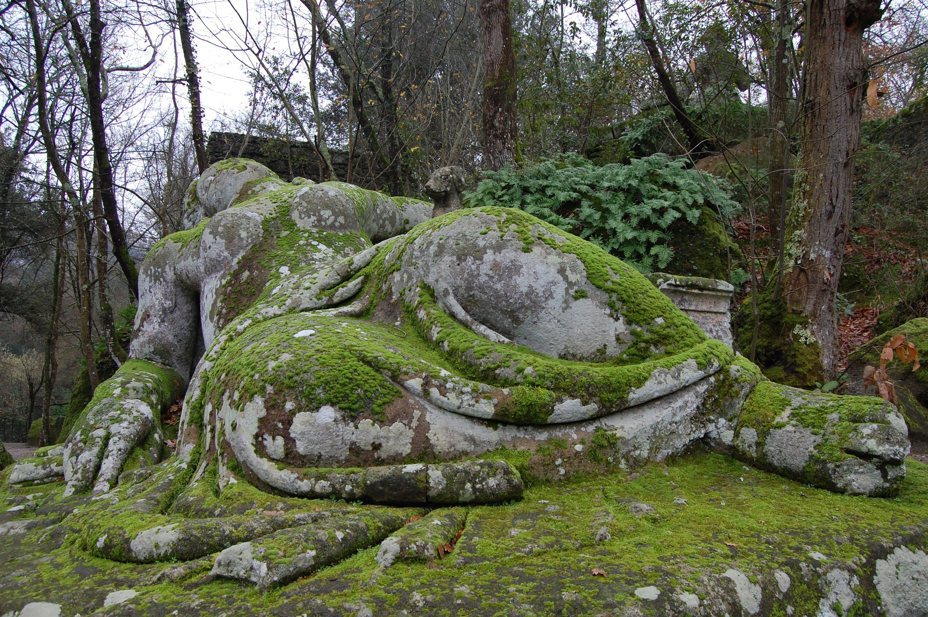 Monster World Garten Bomarzo Giardino Di Mostri Park Of Monsters Park Der