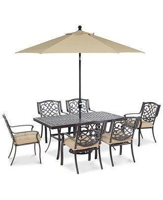 Furniture Park Gate Outdoor Cast, Solid Cast Aluminum Patio Furniture