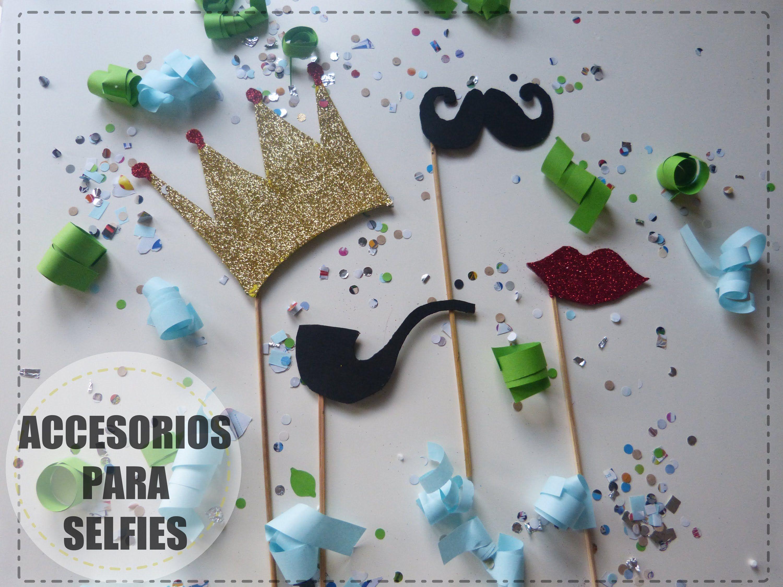 accesorios para selfies kit de fiesta para nochevieja