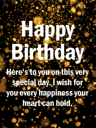 To Your Special Day Happy Birthday Wishes Card Birthday Greeting Cards By Davia Happy Birthday Wishes Cards Birthday Wishes For Him Birthday Wishes For Men