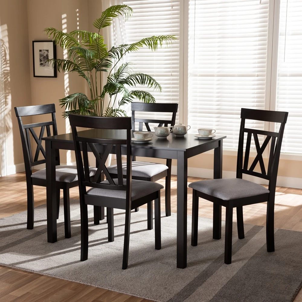 Rocco 5 Piece Dining Set In 2020 5 Piece Dining Set Dining