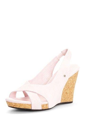 57563577d7e Hazel Wedge Sandal in English Rose  UGG Australia