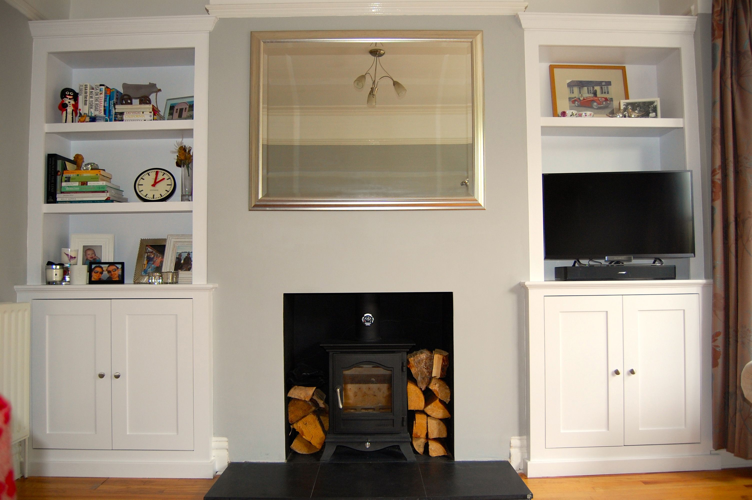Fitted Alcove Units Built In Cupboards From Avar Furniture