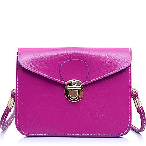 GSPStyle Damen Schultertasche Solid Cross Body kleine Handtasche Umhängetaschen Farbe Dunkelrosa GSPStyle http://www.amazon.de/dp/B00PIM6KP4/ref=cm_sw_r_pi_dp_q7v6wb073ZK7P