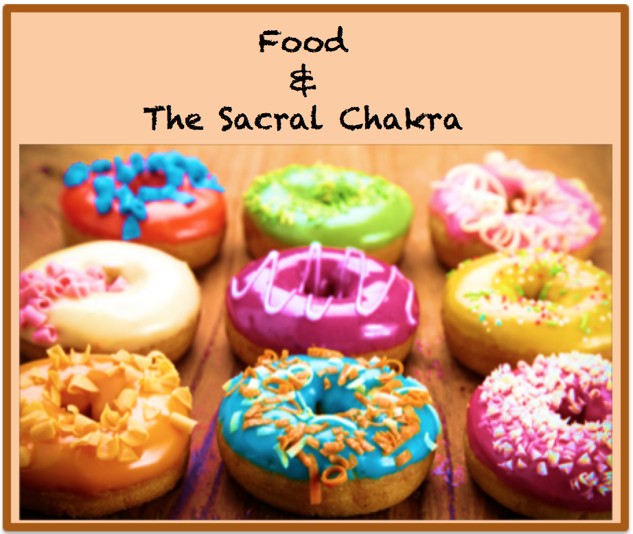 What messes us up in the Sacral Chakra is that it is the home to emotions, relationships, and tastes… What a combination! It's no wonder we have so much emotional confusion surrounding the food we eat. But part of successfully balancing the Sacral Chakra involves learning to sort out those 3 things in a way that feels healthy. Although food is often at the center of our relationship activities, we cannot allow ourselves to attach the food to the relationships or the activities. And, we…
