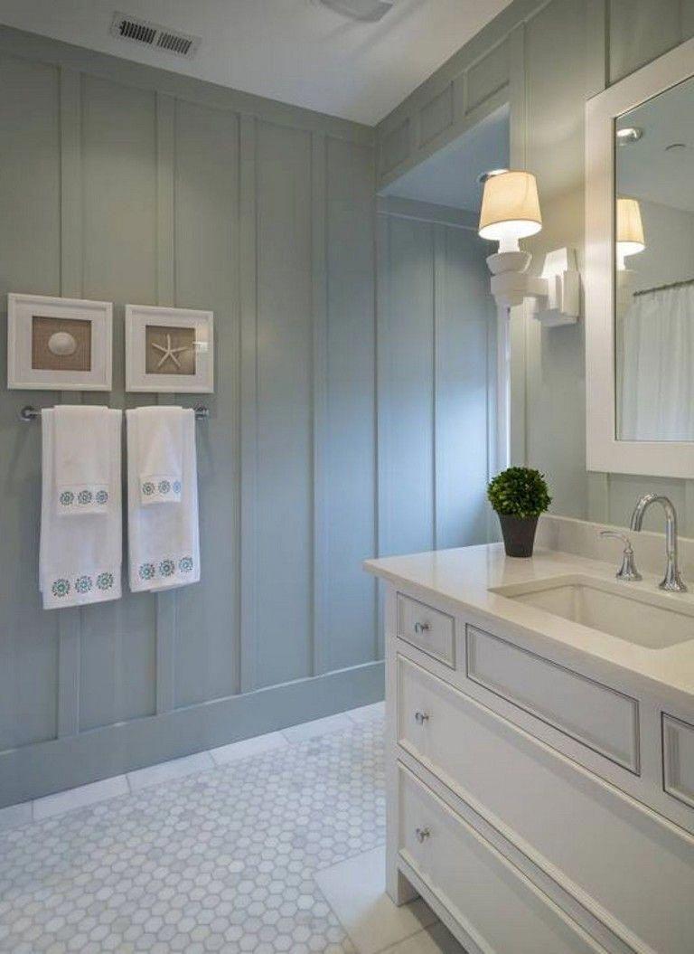37 Marvelous Coastral Nautical Bathroom Decor Ideas