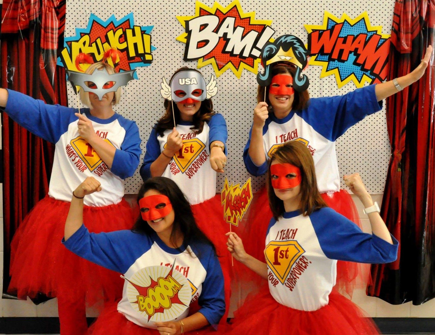 Teachers Are Superheroes