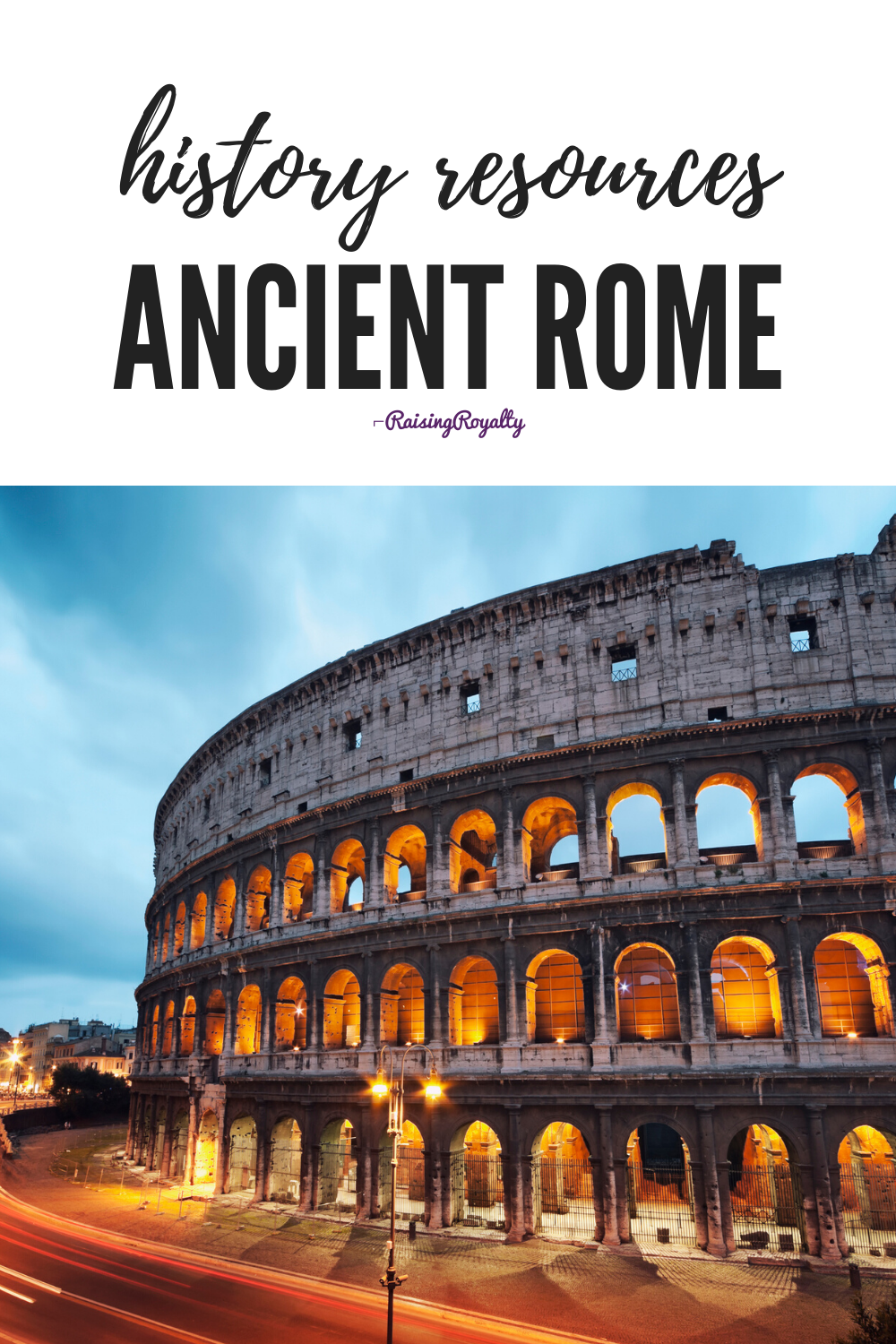 History Resources: Ancient Rome