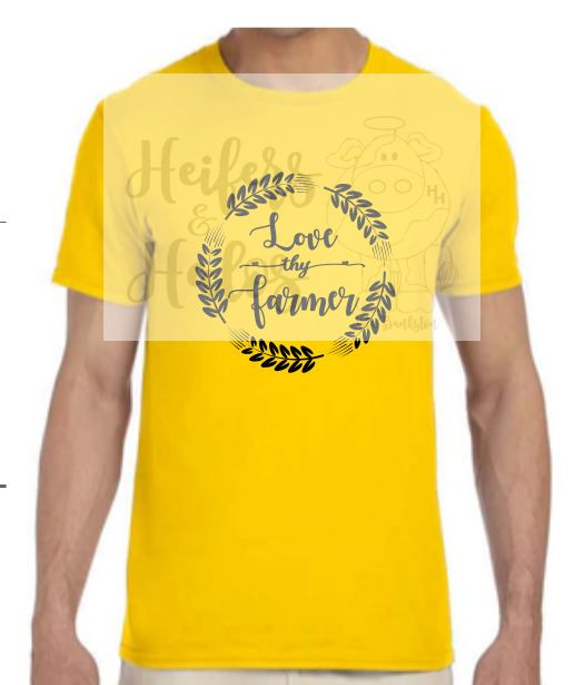 Love thy Farmer SVG - Makes a great t shirt, bag, decal, wall art ...