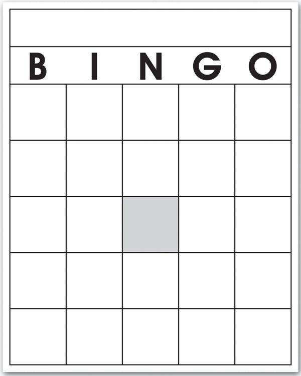 6 Best Images Of 4x4 Blank Bingo Cards Printable 4x4 Blank Bingo In 2020 Bingo Template Bingo Cards Printable Templates Bingo Card Template