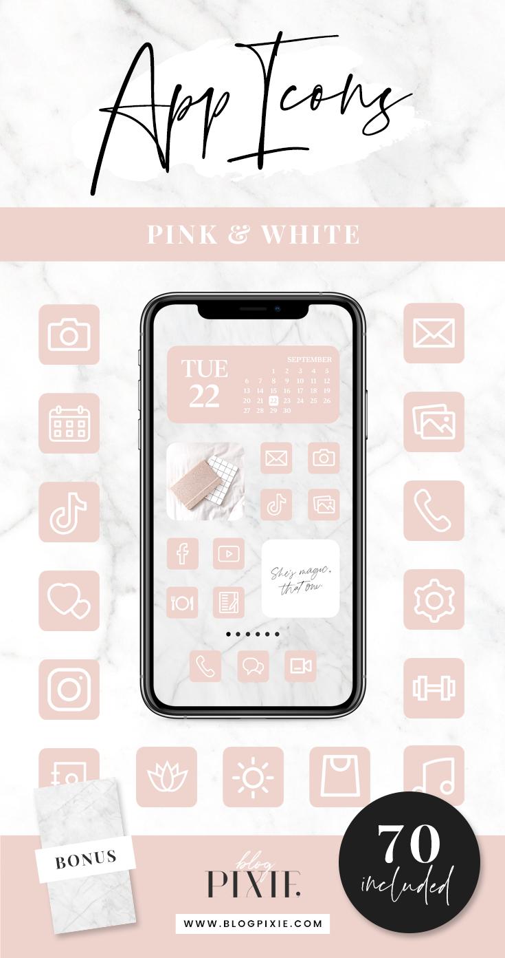 App Icons IOS 14 App Covers IOS 14 Widgets Aesthetic