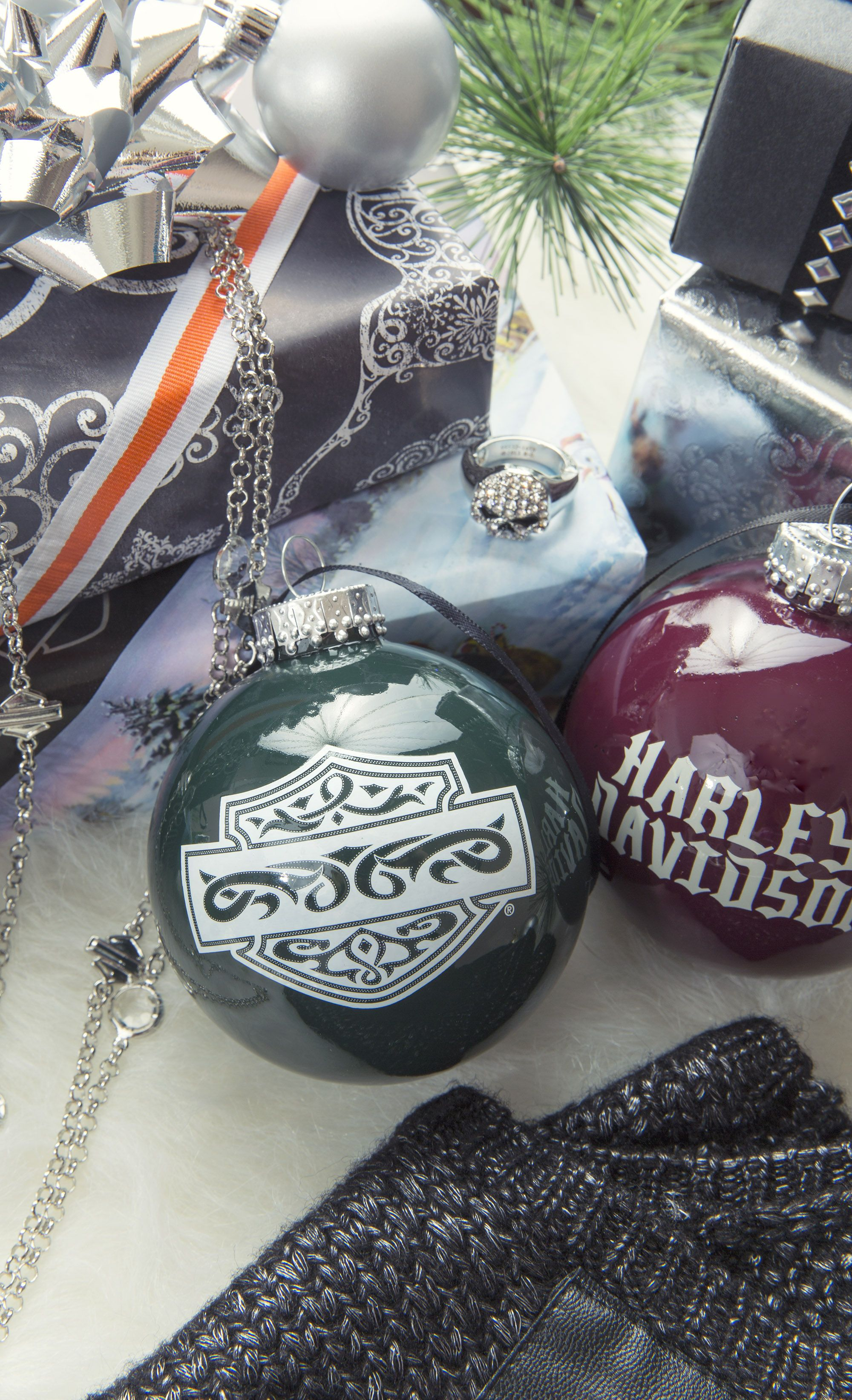 Did you know that Harley-Davidson makes Christmas ornaments? Along ...