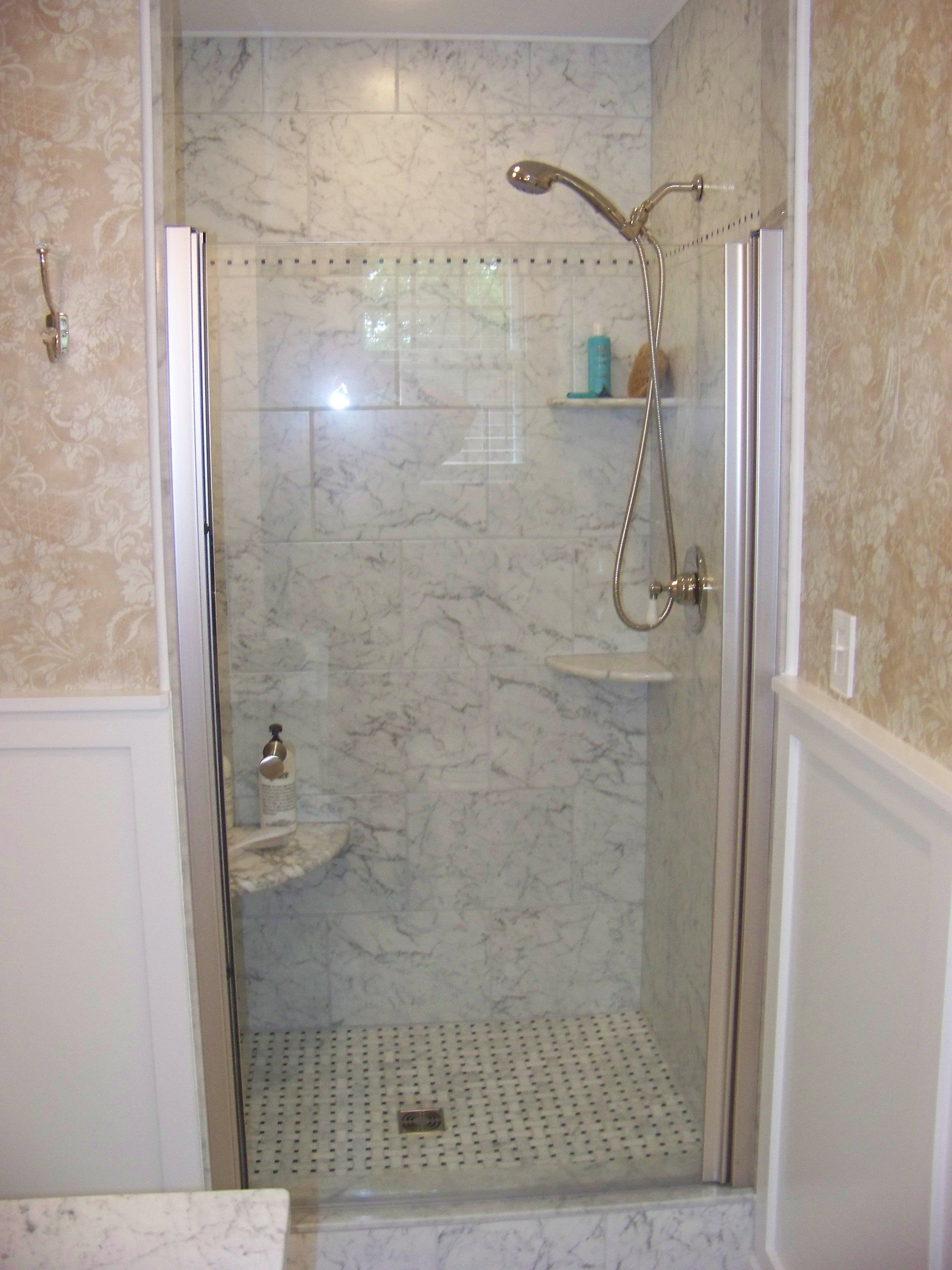 Bathroom Shower Tile Ideas Grey  Google Search  For The Home Captivating Small Bathroom Walk In Shower Designs Design Inspiration