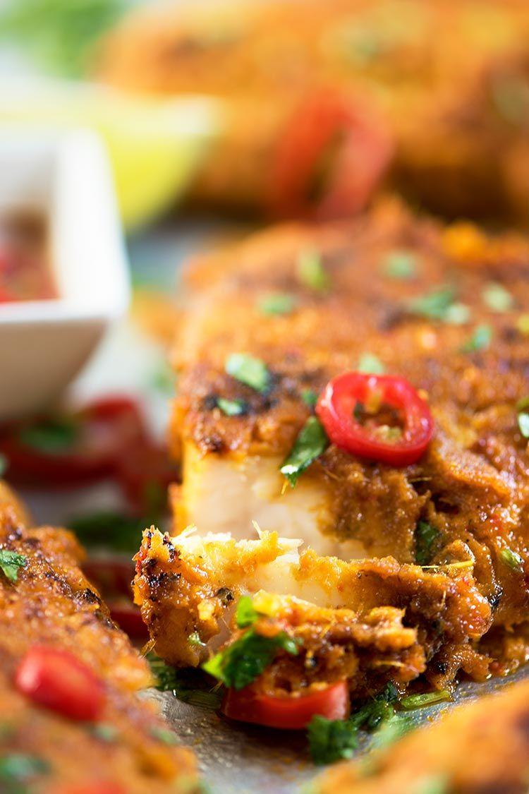 Spicy Malaysian Grilled Fish Ikan Bakar Recipe Recipes
