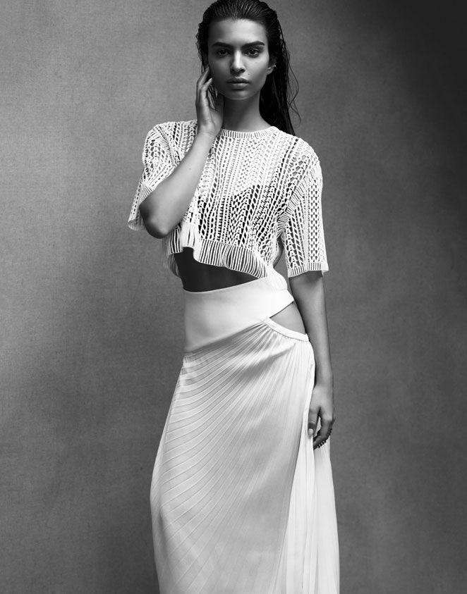 Emily Ratajkowski for S Moda, March 2014 Photographed by: Testu Kubota