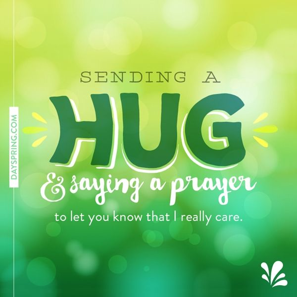 sending hugs and prayers