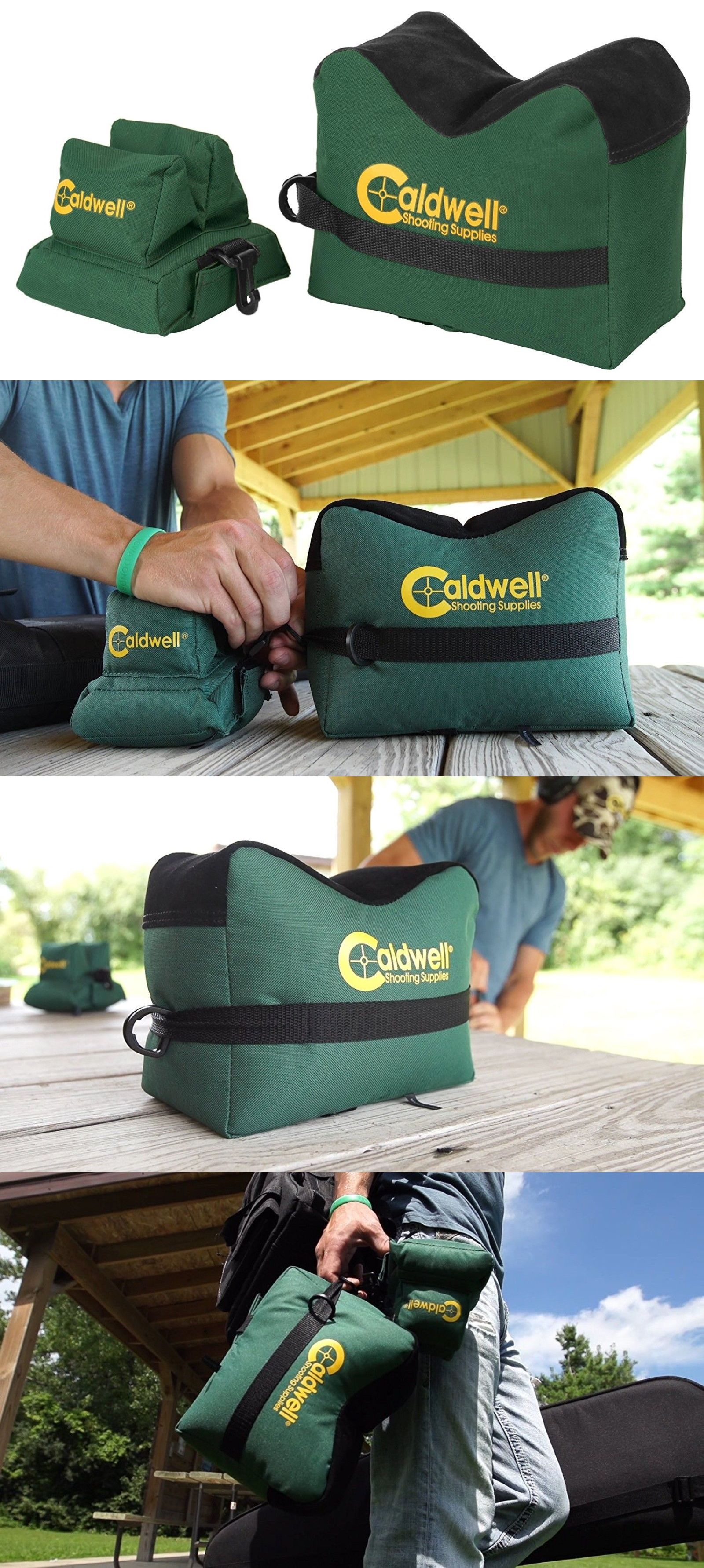 Benches and Rests 177887  Caldwell Deadshot Boxed Front Rear Bag Rest 2 Pc  Hunting Gun Rifle Holder Shoot -  BUY IT NOW ONLY   18.21 on eBay! 10faf036140