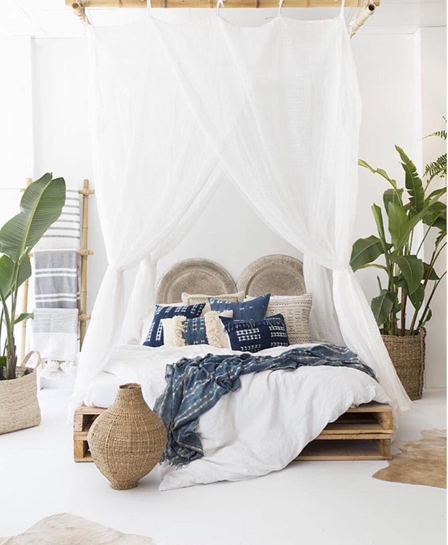 "Tropical white bedroom. Design Home (@designhome) on Instagram: ""We ..."