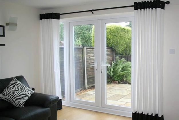 Pin On Inspired Innovations Curtain idea for sliding glass doors