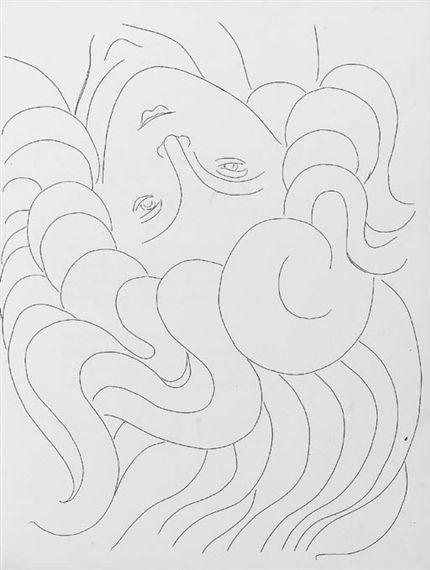 Henri Matisse, Stéphane Mallarmé, Poésies , Albert Skira, Lausanne, 1932
