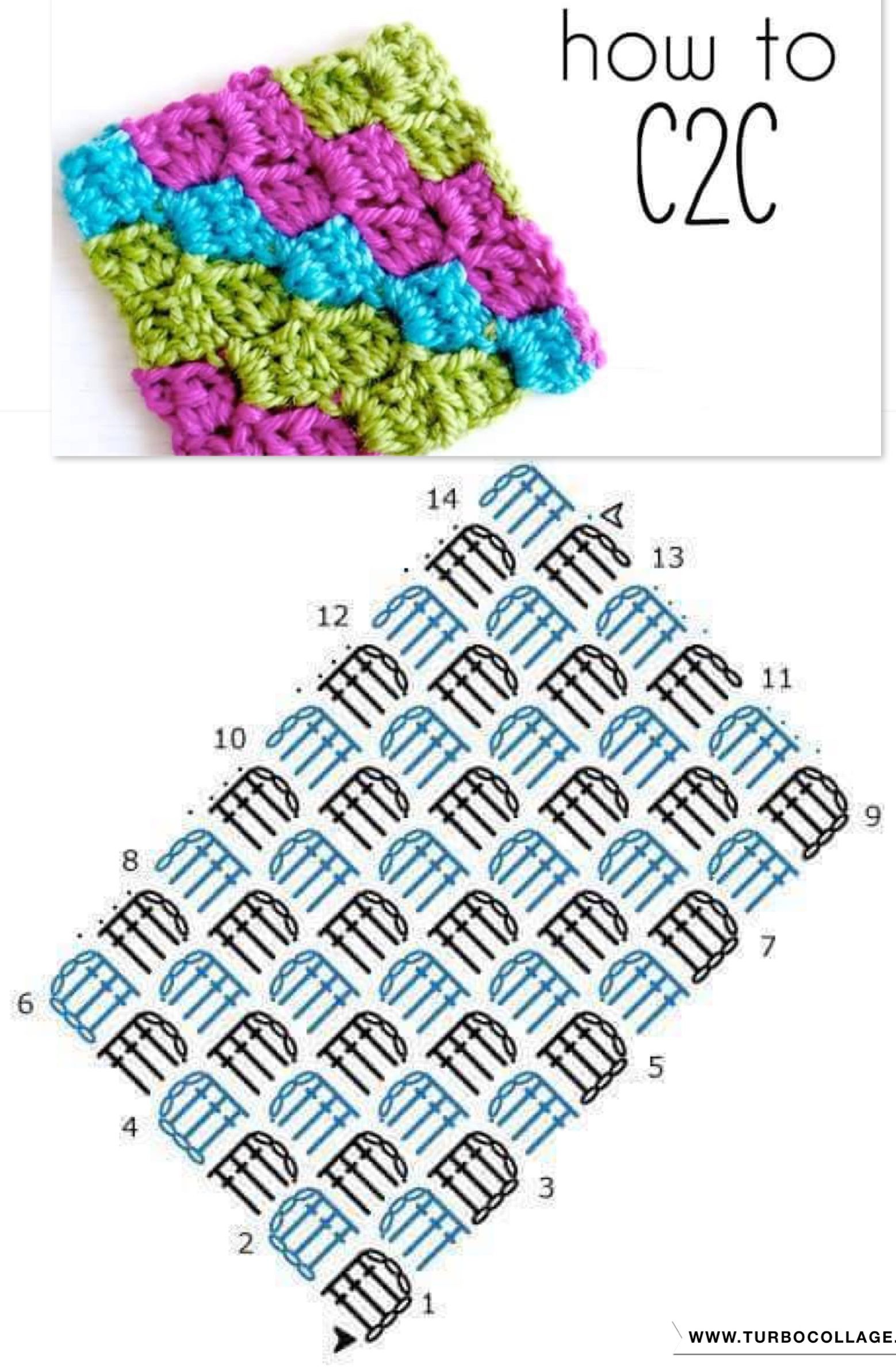 Pin by victoria gilchrist on vics crochet stitches puntos motivi crochet tecnica corner to corner crochet chart pattern created using the hookincrochet crochet symbols font software bankloansurffo Images