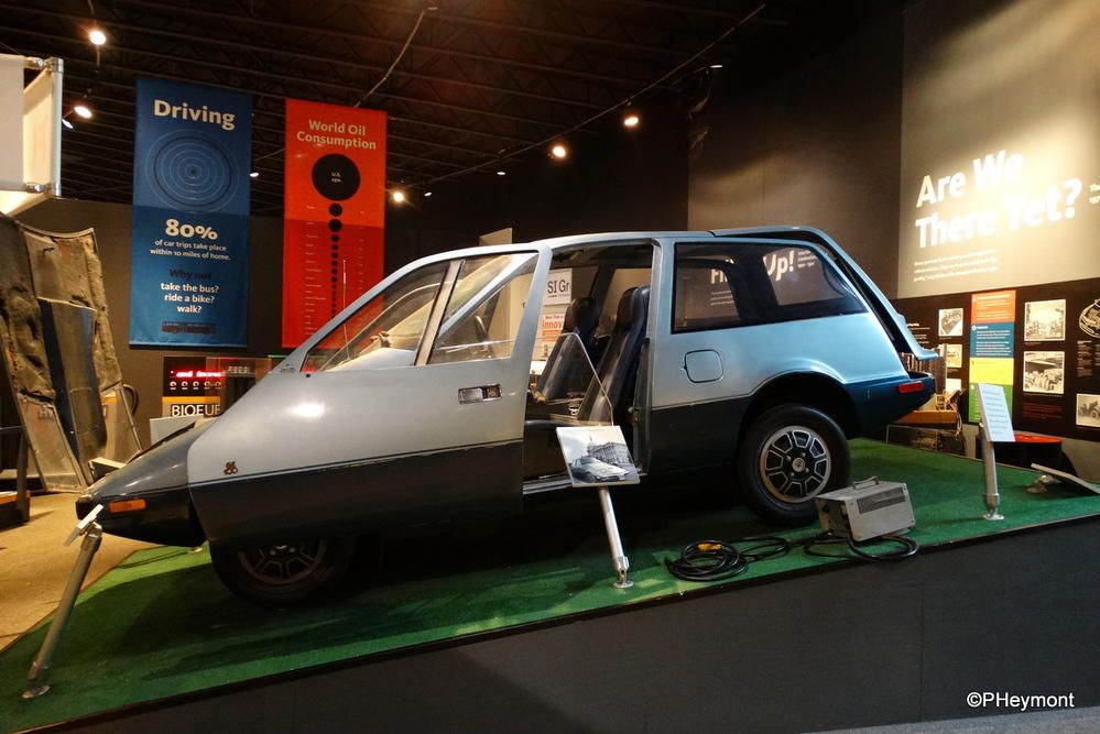 Museum find: GE's 'missing' electric car