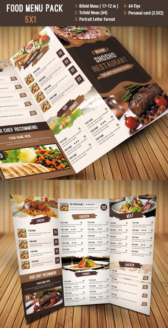 Fruit Juice Menu Flyer Magazine Ad Creative Menu Templates - restaurant menu design templates