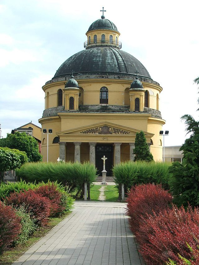 "Esztergom-The St. Anne Church (""Round Church"")"