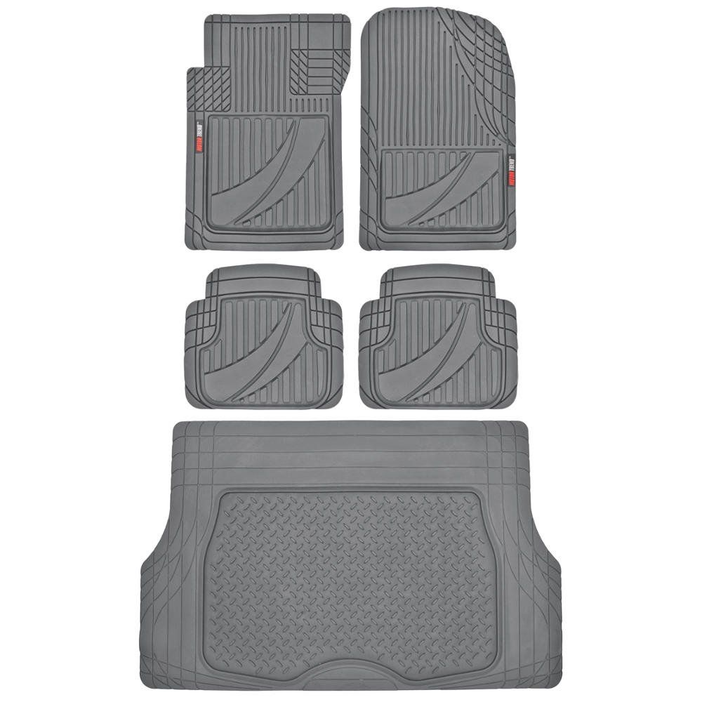 Flextough Advanced Performance Liners 5pc Hd Rubber Floor Mats