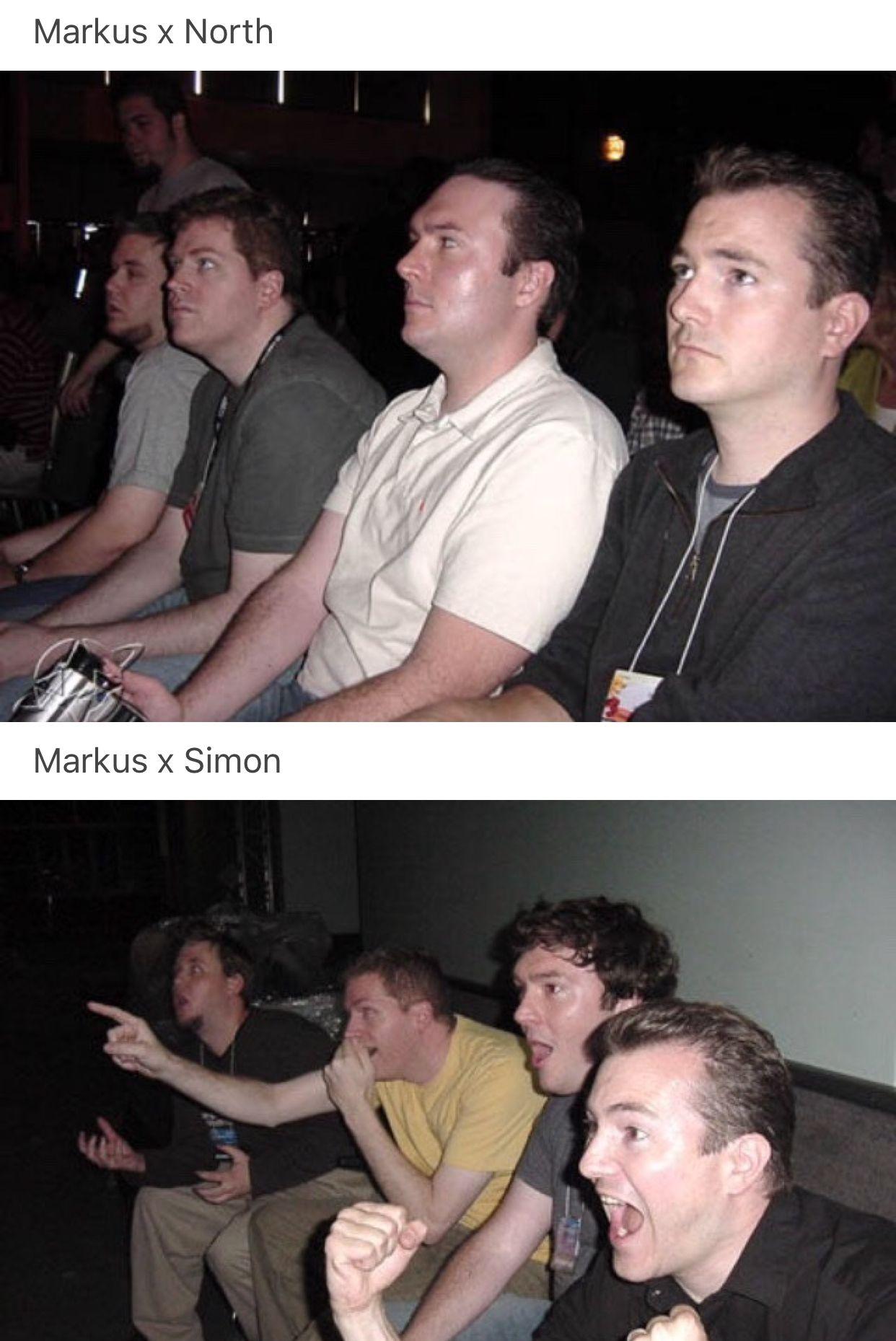 Detroit Become Human, Markus, North, Simon | Skit | Detroit become