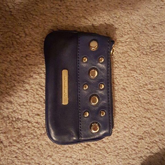 Michael Kors change purse Blue and gold mk change purse Bags Wallets