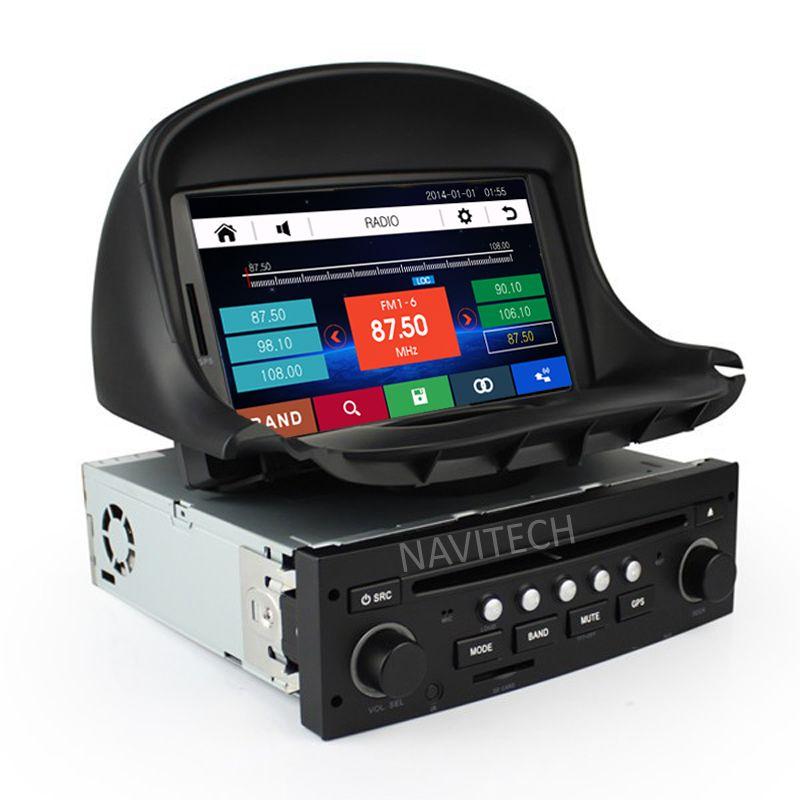 Car Dvd Gps For Peugeot 206 206cc Navigation Bluetooth Radio Ipod
