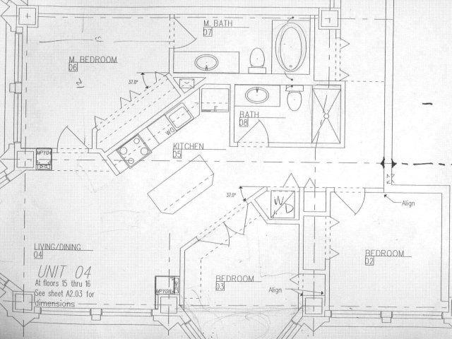 3 Bedroom, 2 Bath Floor Plan Of Property Fisher Building