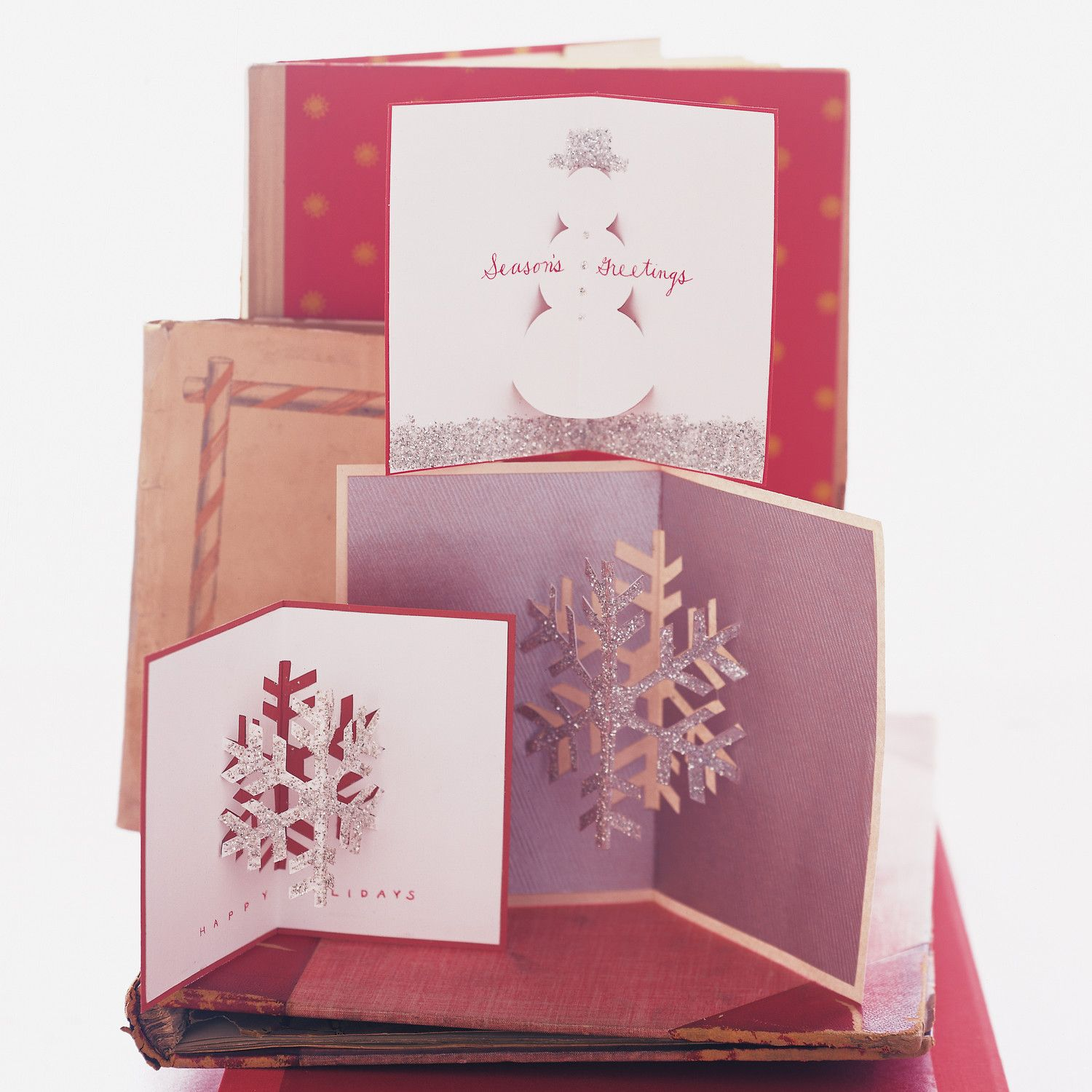 Need a simple card that just pops and reveals your surprise or message Holiday