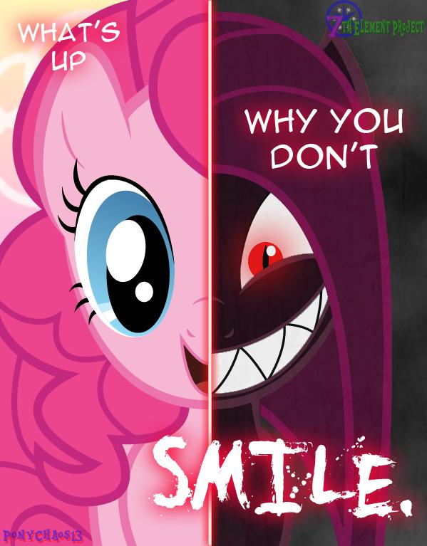 Dark Pinkie Pie Equirin Infestation By Ponychaos13 On Deviantart