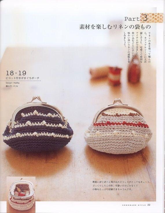 He encontrado este interesante anuncio de Etsy en https://www.etsy.com/es/listing/183216651/crochet-bags-japanese-pattern-c12