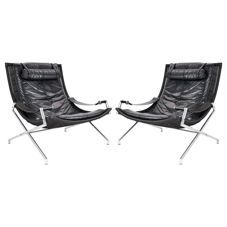 Prime Gerard Van Den Berg Lounge Chair Set 1980S Dutch Modernist Pabps2019 Chair Design Images Pabps2019Com
