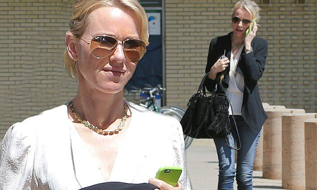 Naomi Watts looks sophisticated as she grabs lunch in Brentwood