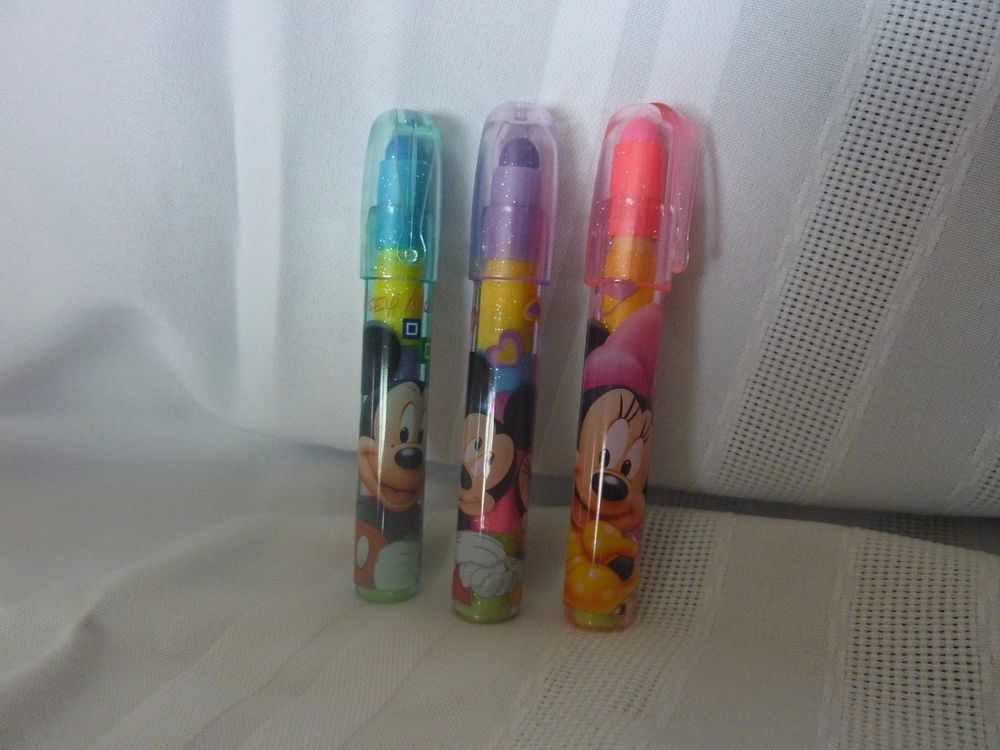 Disney Mickey & Minnie Mouse Stackable Eraser pen,for Boys & Girls   Find us on Ebay! 1.Click on Advanced next to the Search Button 2.Under the Tab Items click By Seller 3.Enter uaintbad in the Enter Seller's User ID field